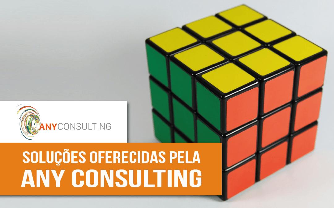 Seis soluções que a Any Consulting oferece para o seu negócio