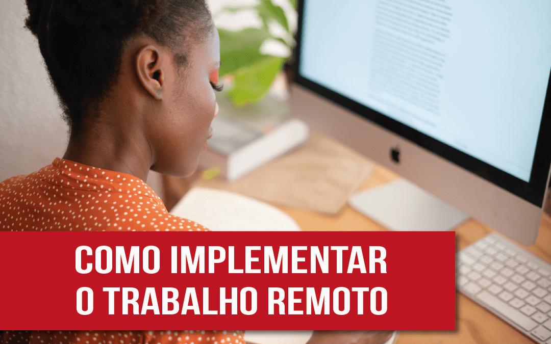 Trabalho remoto – saiba tudo que você precisa - Photo by Retha Ferguson from Pexels