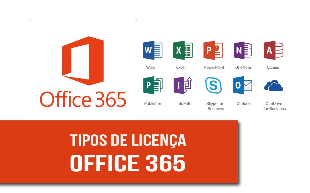 Tipos de licença Microsoft 365: quais as diferenças?