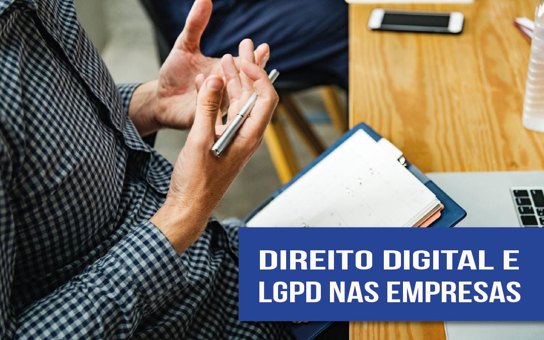 Compliance de Direito Digital e LGPD: implementação nas empresas