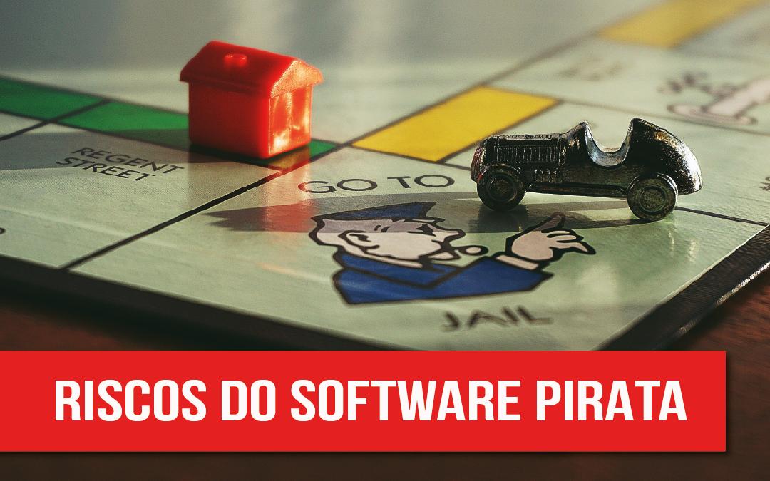 Os riscos de instalar software pirata na sua empresa